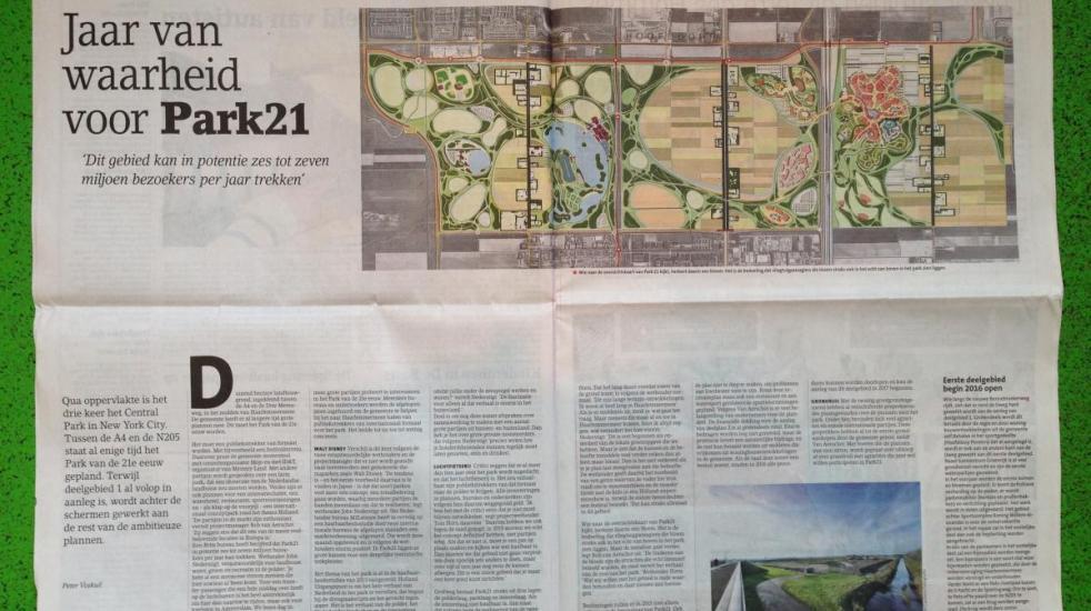 artikel in Hoofddorpse Courant