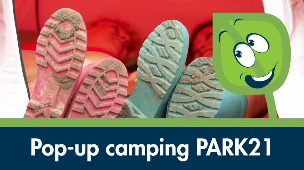 Pop-up camping PARK21