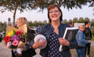 Wethouder Mieke Booij opent complex Hawks