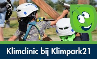 Beeld van kleuterklimmen bij Klimpark21